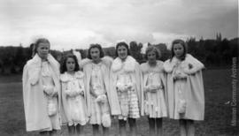 Queen Lois and Attendants, Mission B.C. May, 1942