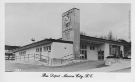 Bus Depot, Mission City, B.C.