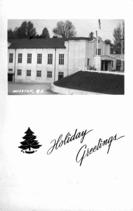 Holiday Greetings / Mission, B.C.
