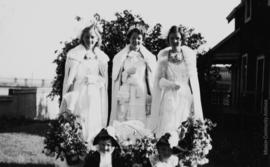 Queen Patricia and Attendants, Mission B.C. May, 1938