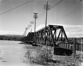 Matsqui end of the Mission- Matsqui Bridge June 9- 1948
