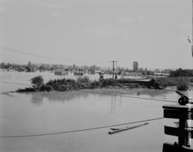 Floodwaters on Mission Flats or Matsqui
