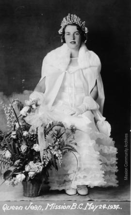 Queen Jean, Mission B.C. May 24, 1934