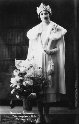 Queen Laura, Mission B.C. May 24, 1932