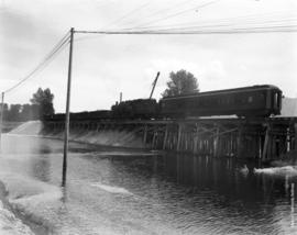 Repairs to C.P.R. line at Dewdney July 13th, 1948