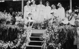Queen Margaret and Attendants, Mision B.C. May, 1939