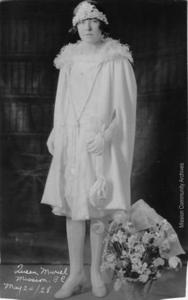 Queen Muriel, Mission B.C. May 24, 1928